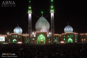 تقریر مصور/ مشاركة واسعة في إحياء الليلة الثالثة وعشرين من ليالي القدر في مسجد جمكران