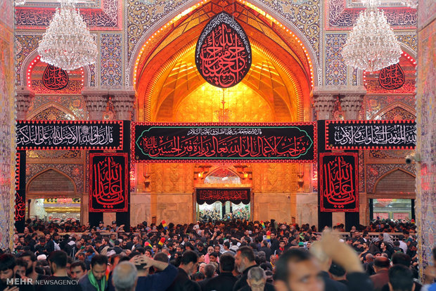 I am Sakinah, today is Ashoora and here is Karbala
