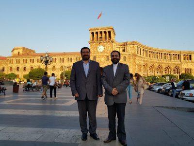 سفر رئیس مجمع جهانی شیعه شناسی به کشور ارمنستان