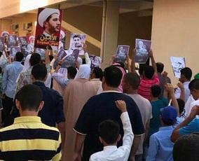 راهپیمایی شیعیان بحرین برای تجدید پیمان با شهدا و حمایت از شیخ عیسی قاسم