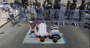 عقب نشینی نتانیاهو در ممانعت از ورود فلسطینی ها به مسجدالاقصی