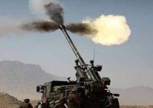 توپخانه ارتش لبنان پایگاههای داعش را گلوله باران کرد