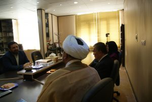 گزارش تصویری از نشست همکاری بین رئیس دپارتمان اسلامی در دانشگاه سیام تایلند و مجمع جهانی شیعه شناسی
