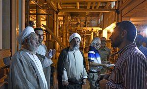 بازدید نمایندگان ولی فقیه در سپاه و نیروی قدس از صحن حضرت زهرا(س)