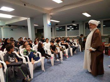 حجت الاسلام استاد راستگو در مرکز اسلامی برلین