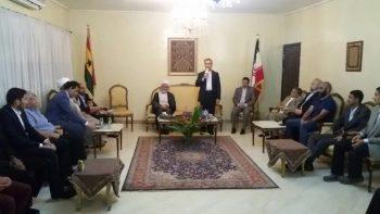 جشن عید سعید غدیر خم در اقامتگاه سفیر ایران در غنا برگزار شد