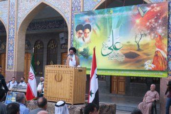 برگزاری جشن عید سعید غدیر در حرم حضرت زینب(س)