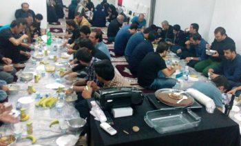 عزاداری شب عاشورا در مرکز آل یاسین لیسبون