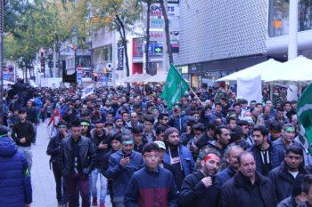 راهپیمایی بزرگ روز حسین(ع) در اتریش