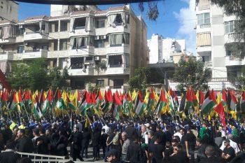 برگزاری راهپیمایی عاشورای حسینی در بیروت