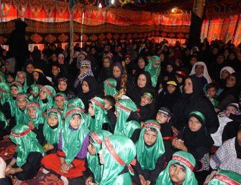 عزای حسینی شیعیان منطقه بودگام در جامو و کشمیر