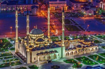 ویدئو ۳۶۰ از مسجدی زیبا در روسیه
