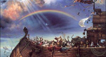تواضع و تکبر کوه ها در برابر کشتی نوح