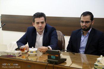 مدیر عامل شرکت مهر زیما ، دکتر کمال ثریا اردکانی رئیس اداره کل آستان حضرت معصومه(س)