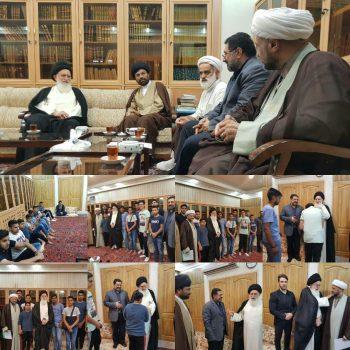 حضور تعدادی از جوانان شیعه سوئد در ایران
