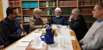 جلسه دیالوگ وگفتگو بین کشیش واعضای کلیسای اعظم تمپل هوف وامام مرکز اسلامی برلین در آستانه کریسمس وسال نومیلادی ۲۰۱۹
